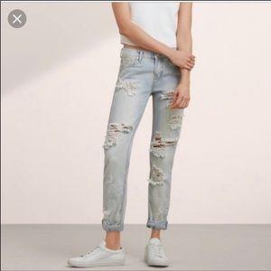 ONE Teaspoon Baggies Destroyed Jeans Preloved!